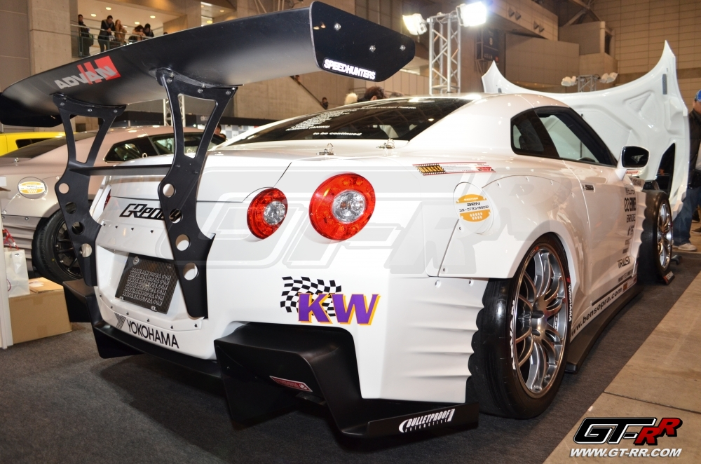 BenSopra Rear GT Wing Nissan GT-R R35