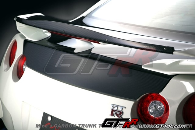 Mines R35 GT-R Mooncraft Version Carbon Rear Ring