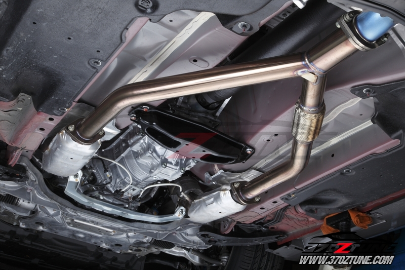 Resonated Test Pipes 370z Berk Technology Bt1407 Res